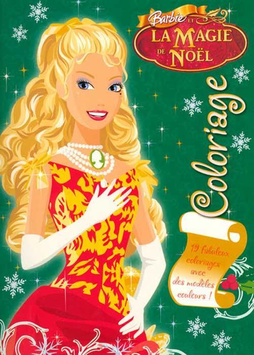 Livre barbie et la magie de noel coloriage collectif - Barbie et la magie de noel ...