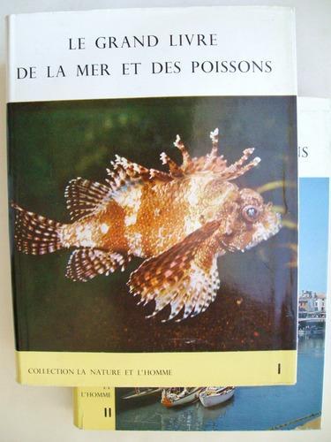 Livre le grand livre de la mer et des poissons complet - Grand poisson de mer ...