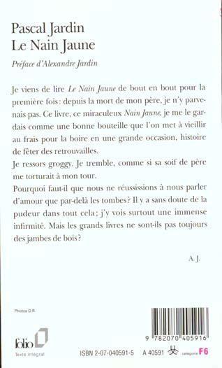 Le Nain jaune Jardin Pascal Occasion Livre | eBay
