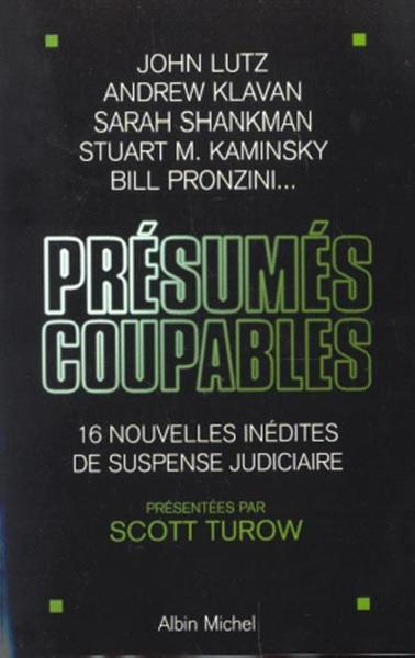 Vente Livre :                                    Presumes Coupables                                      - Scott Turow