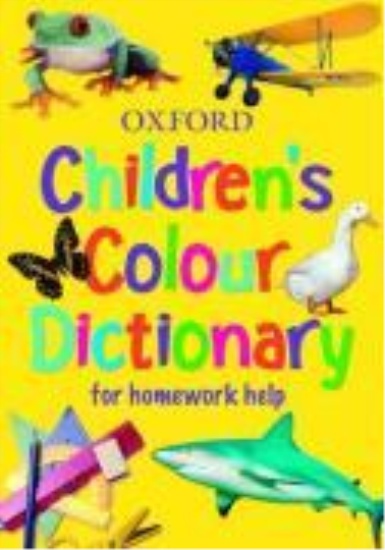 Children's colour dictionary  - Sheila Dignen