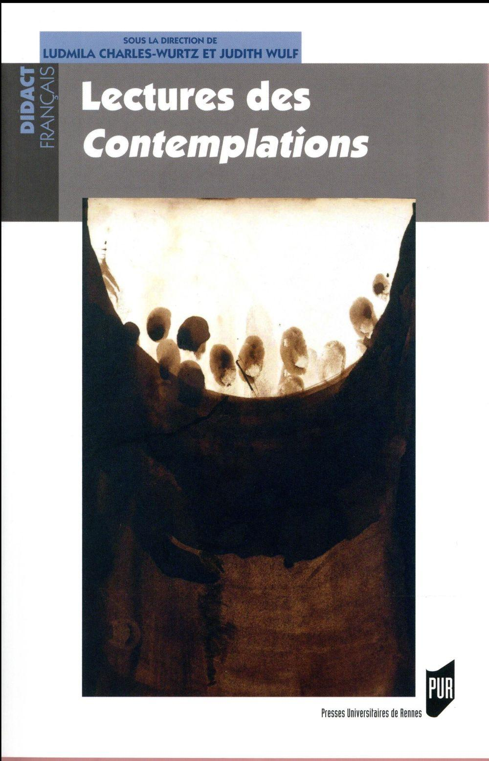 Lectures des Contemplations  - Ludmila Charles-Wurtz  - Judith Wulf