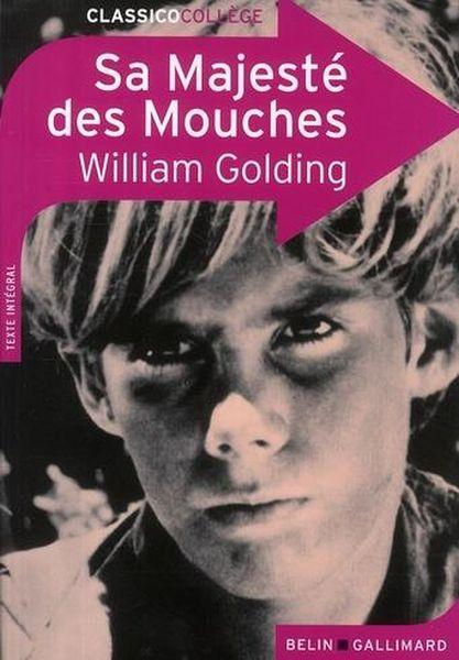 CLASSICO COLLEGE T.5 ; sa majesté des mouches, de William Golding  - Nicolas Saulais