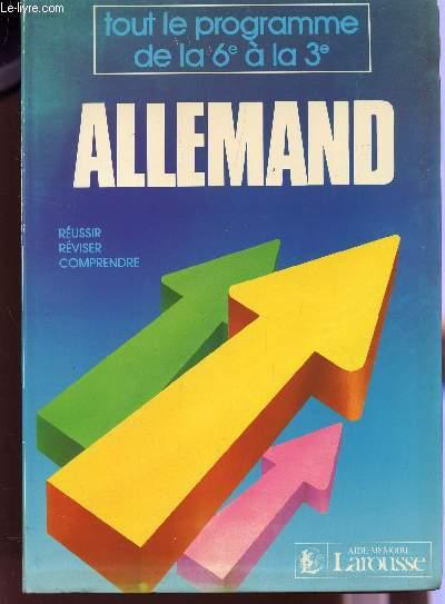 Aide-Memoire Allemand  - Collectif