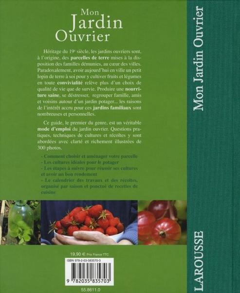 Livre mon jardin ouvrier andi clevely acheter for Jardin ouvrier