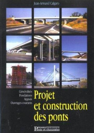 Livre projet construction des ponts jean armand calgaro for Projet construction