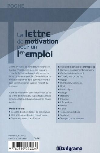 Livre - La lettre de motivation pour un 1er emploi - Christelle Capo-Chichi, Camille Fontaine ...