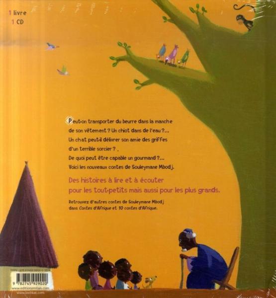 livre contes d 39 afrique pour les tout petits mbodj souleymane le. Black Bedroom Furniture Sets. Home Design Ideas