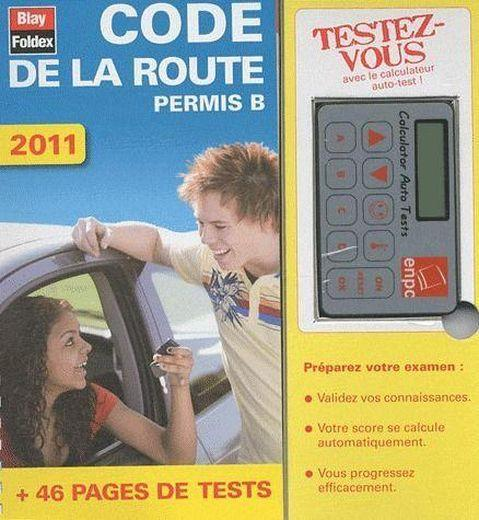 livre code de la route 2011 calculateur auto test. Black Bedroom Furniture Sets. Home Design Ideas