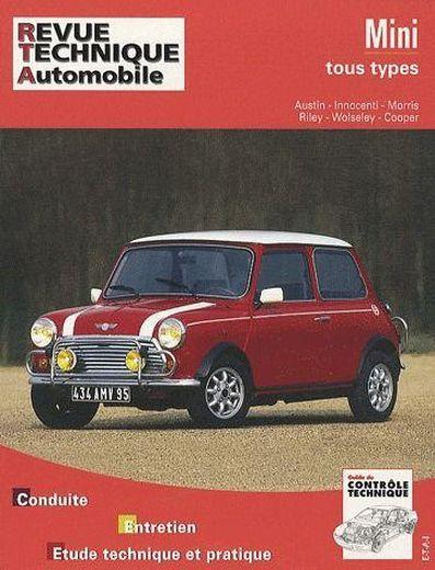 livre revue technique automobile mini tous. Black Bedroom Furniture Sets. Home Design Ideas