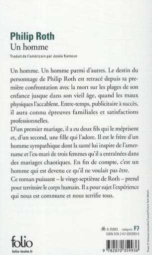 Un homme  - Philip Roth