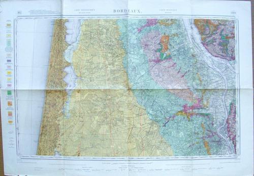 Topographie bordeaux