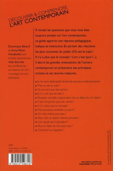 Livre d couvrir et comprendre l 39 art contemporain for Art contemporain livre