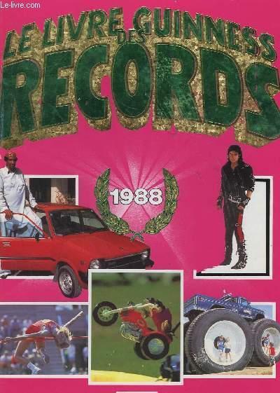 livre le livre guinness des records 1988 mcwhirter norris acheter occasion 1987. Black Bedroom Furniture Sets. Home Design Ideas