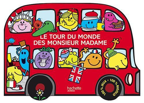 Livre Le Tour Du Monde Des Monsieur Madame Roger