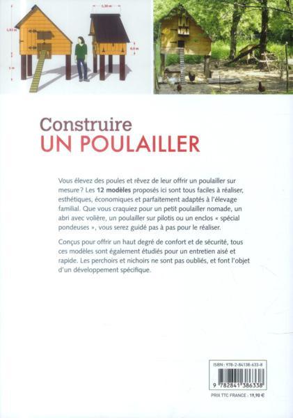 Livre Construire Un Poulailler 12 Mod Les R Aliser Soi M Me Husson Herve