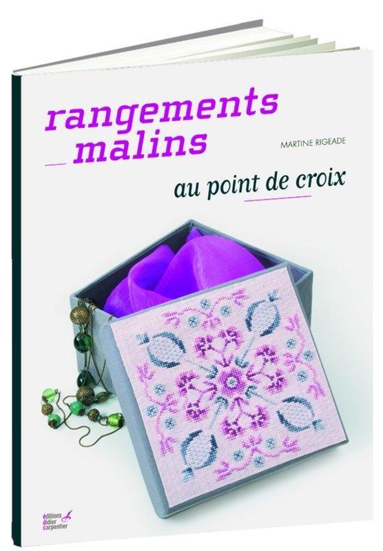 rangements malins au point de croix martine rigeade livre france loisirs. Black Bedroom Furniture Sets. Home Design Ideas