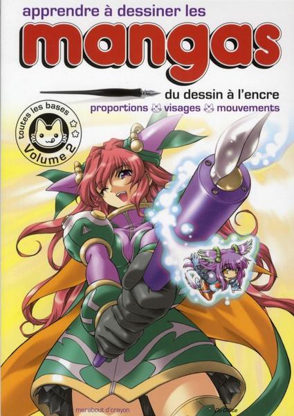 Livre apprendre dessiner les mangas t 2 du dessin for Apprendre les livrets