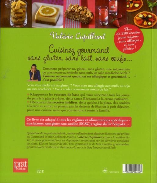 Livre cuisinez gourmand sans gluten sans lait sans - Cuisinez gourmand sans gluten sans lait sans oeufs pdf ...