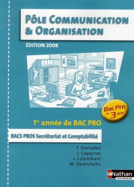 Livre P 244 Le Communication Et Organisation 1 232 Re Ann 233 E