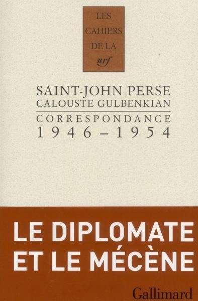 Les cahiers de la nrf correspondance 1946 1954 calouste gulbenkian saint - Vente correspondance belgique ...