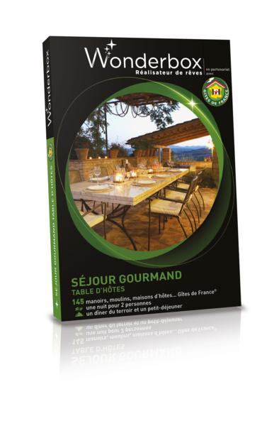 Wonderbox s jour gourmand tables d 39 h tes - Wonderbox sejour prestige table d hotes ...