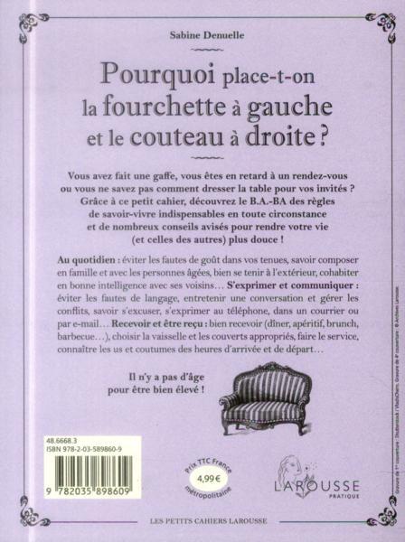 Quelques liens utiles - Fourchette a droite ou a gauche ...