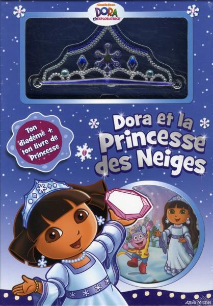 Livre coffret dora et la princesse des neiges collectif - Dora princesse des neiges ...