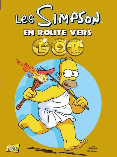 Les Simpson ; en route vers l'or  - Matt Groening