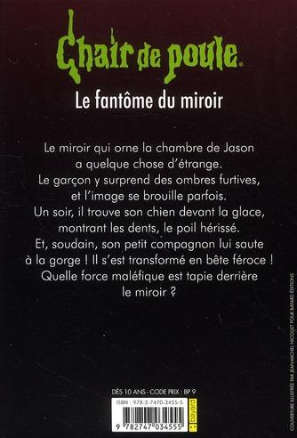 Livre chair de poule le fant me du miroir stine for Fantome dans un miroir