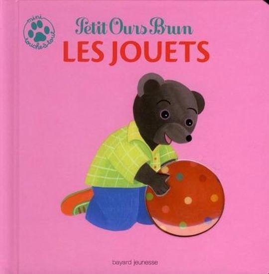 livre petit ours brun mini touche tout les jouets. Black Bedroom Furniture Sets. Home Design Ideas