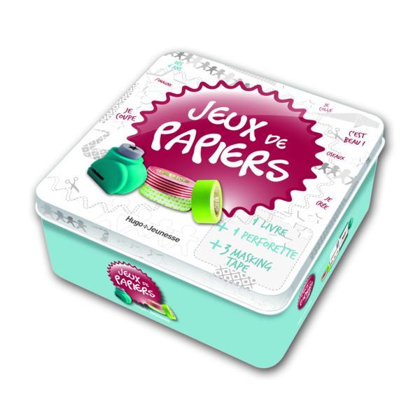 Livre boite jeux de papier lazergues laetitia for Boite a jeux