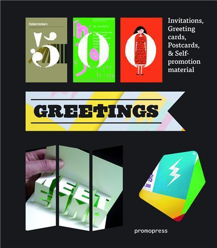500 greetings ; invitations, greeting cards, postcards et self-promotional material  - Marta Serrats