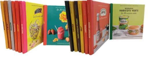 Livre lot de 14 livres les recettes culte collectif - Livre cuisine marque culte ...