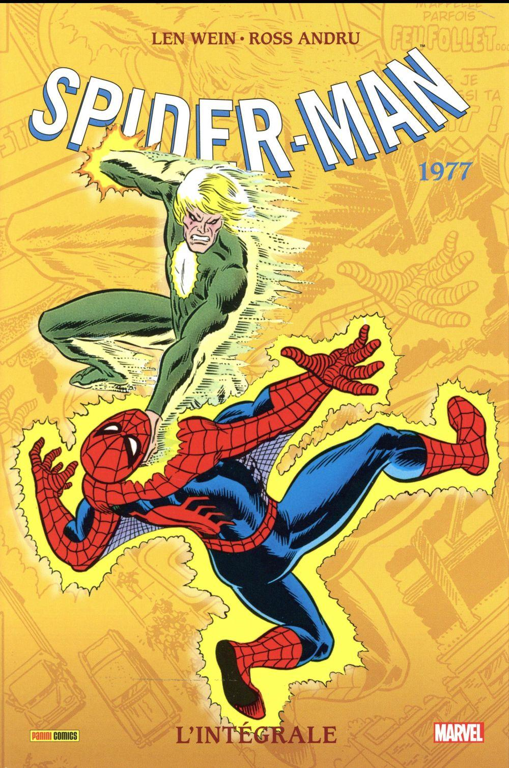 The amazing Spider-Man ; INTEGRALE VOL.15 ; 1977  - Len Wein  - Marv Wolfman  - Sal Buscema  - Ross Andru