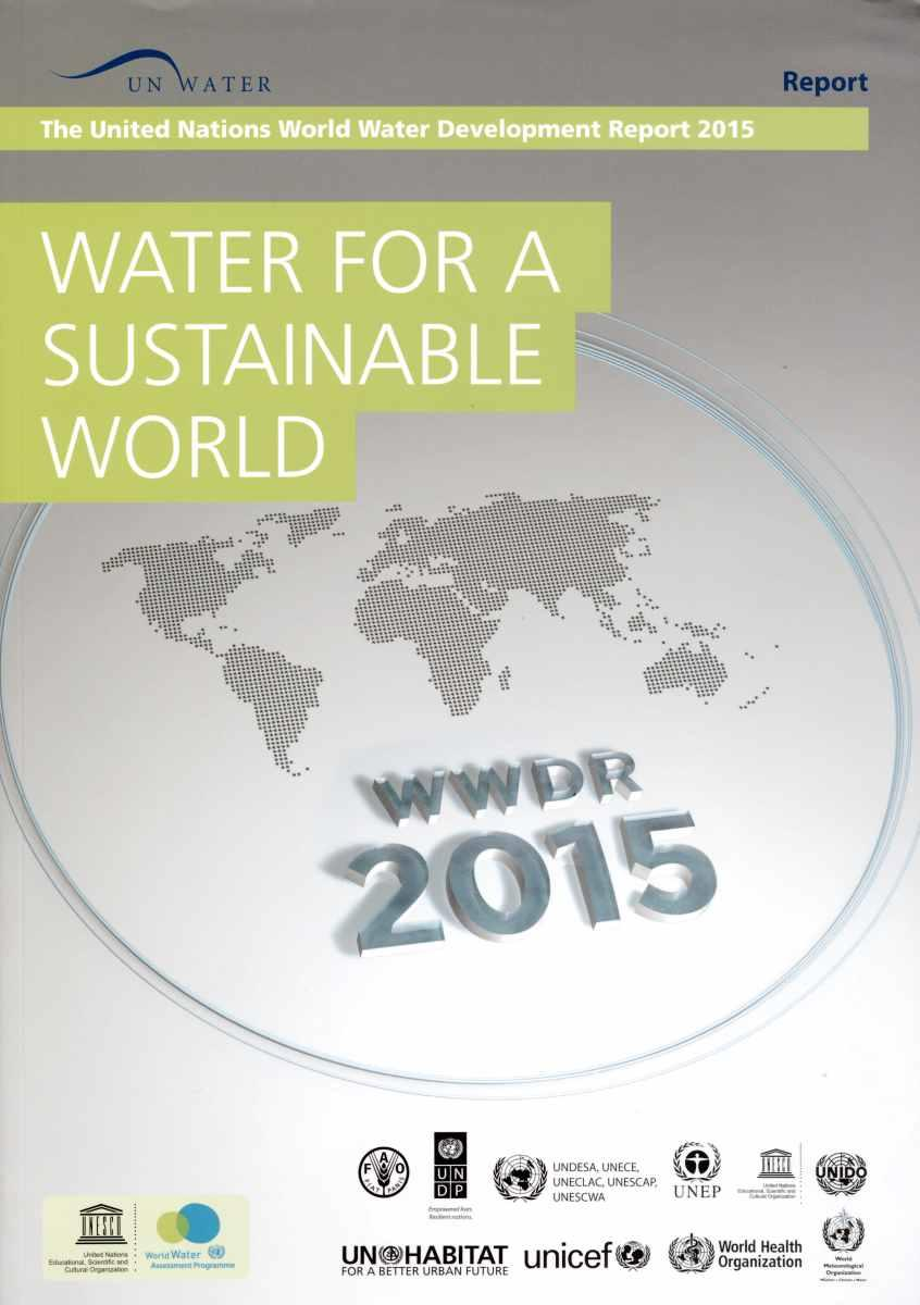 Vente                                 Water for a sustainable world ; the United Nations world water development report 2015                                  - Unesco