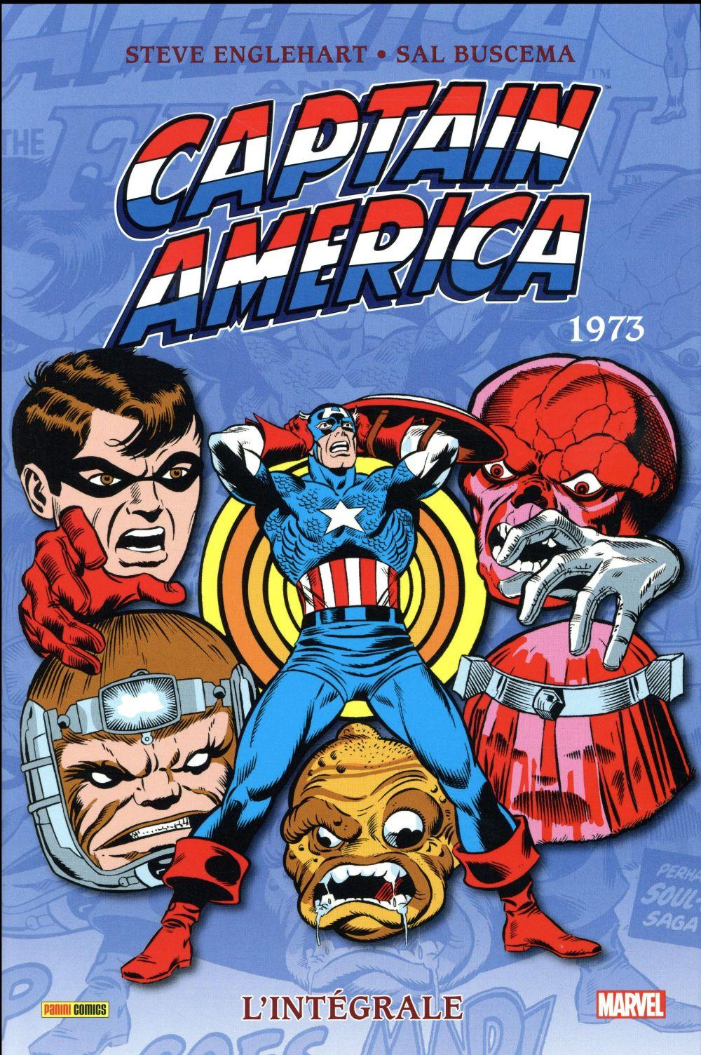 Captain America ; INTEGRALE VOL.7 ; 1973  - Collectif