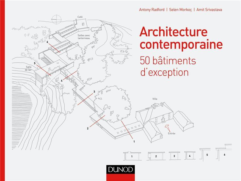 Architecture contemporaine ; 50 bâtiments d'exception qui font l'architecture d'aujourd'hui  - Antony Radford
