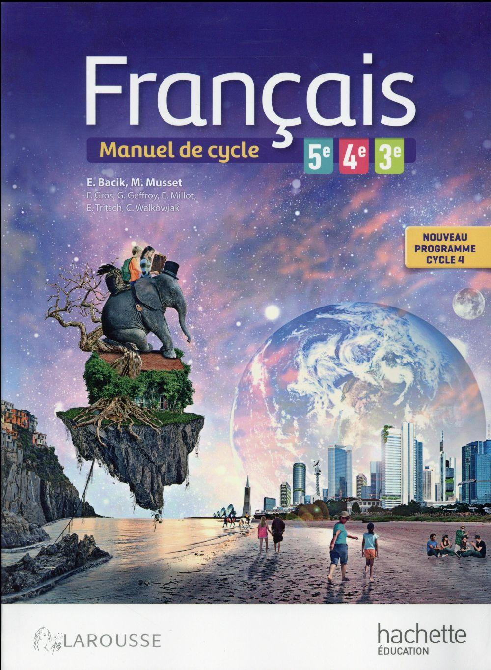 Francais 5eme 4eme 3eme Livre De L Eleve