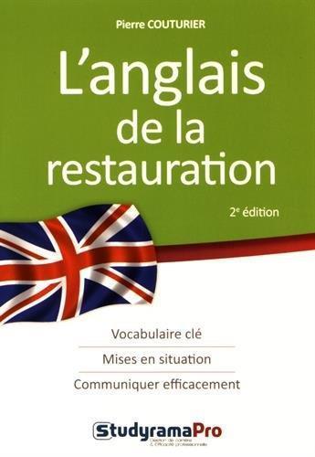 L 39 anglais de la restauration vocabulaire cl mises en situation communiquer efficacement 2e - Vocabulaire anglais vente pret a porter ...