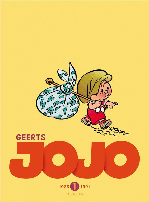 Jojo ; INTEGRALE VOL.1 ; T.1 A T.4 ; 1983-1991  - André Geerts  - Andre Geerts