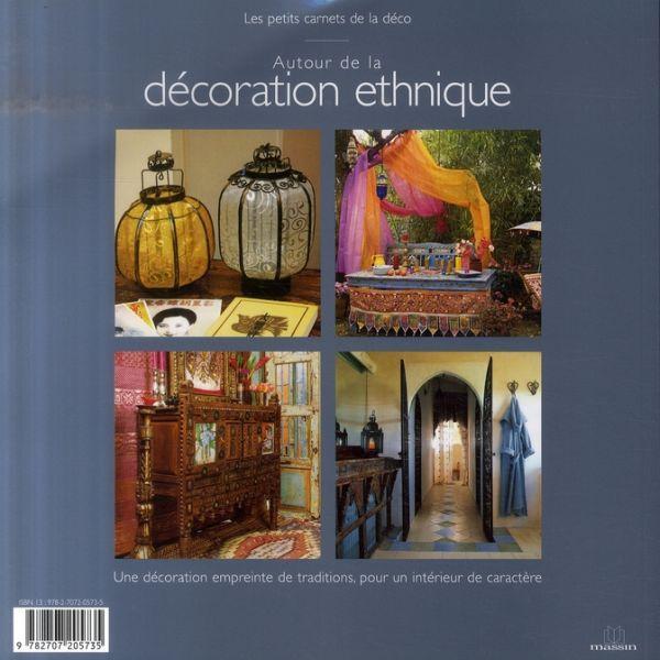 Livre autour de la decoration ethnique collectif acheter occasion 13 08 2007 for Photos de decoration eclectique ethnique chics