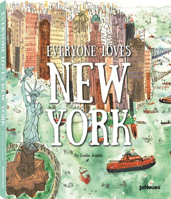 Vente Livre :                                    Everyone loves New York                                      - Collectif