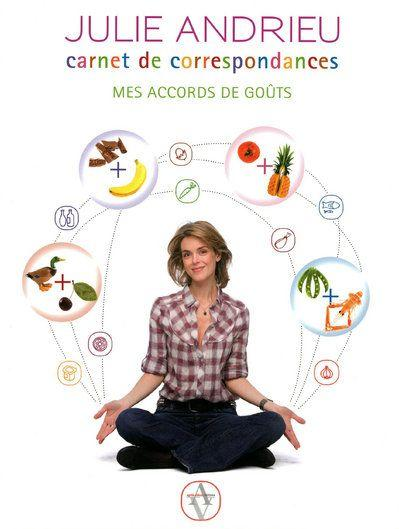 Carnet de correspondances ; mes accords de goûts  - Julie Andrieu