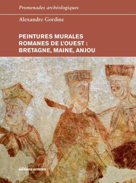 Livre peintures murales romanes de l 39 ouest bretagne for Peintures murales