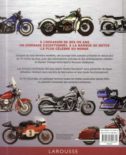 Harley Davidson Motos Mythiques