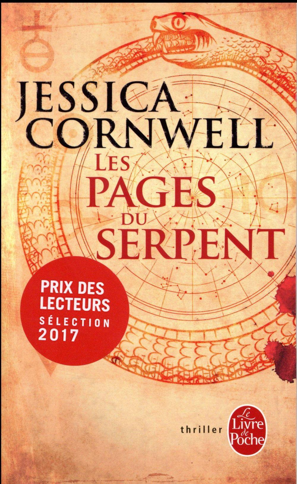 Les pages du serpent  - Jessica Cornwell