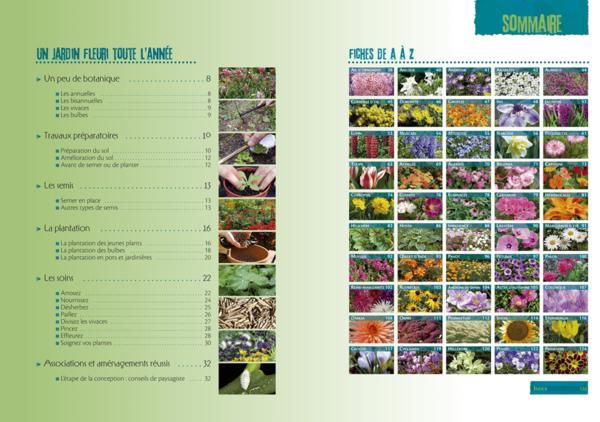 Livre jardin fleuri toute l ann e armelle robert armelle robert et horticolor - Massif fleuri toute l annee ...