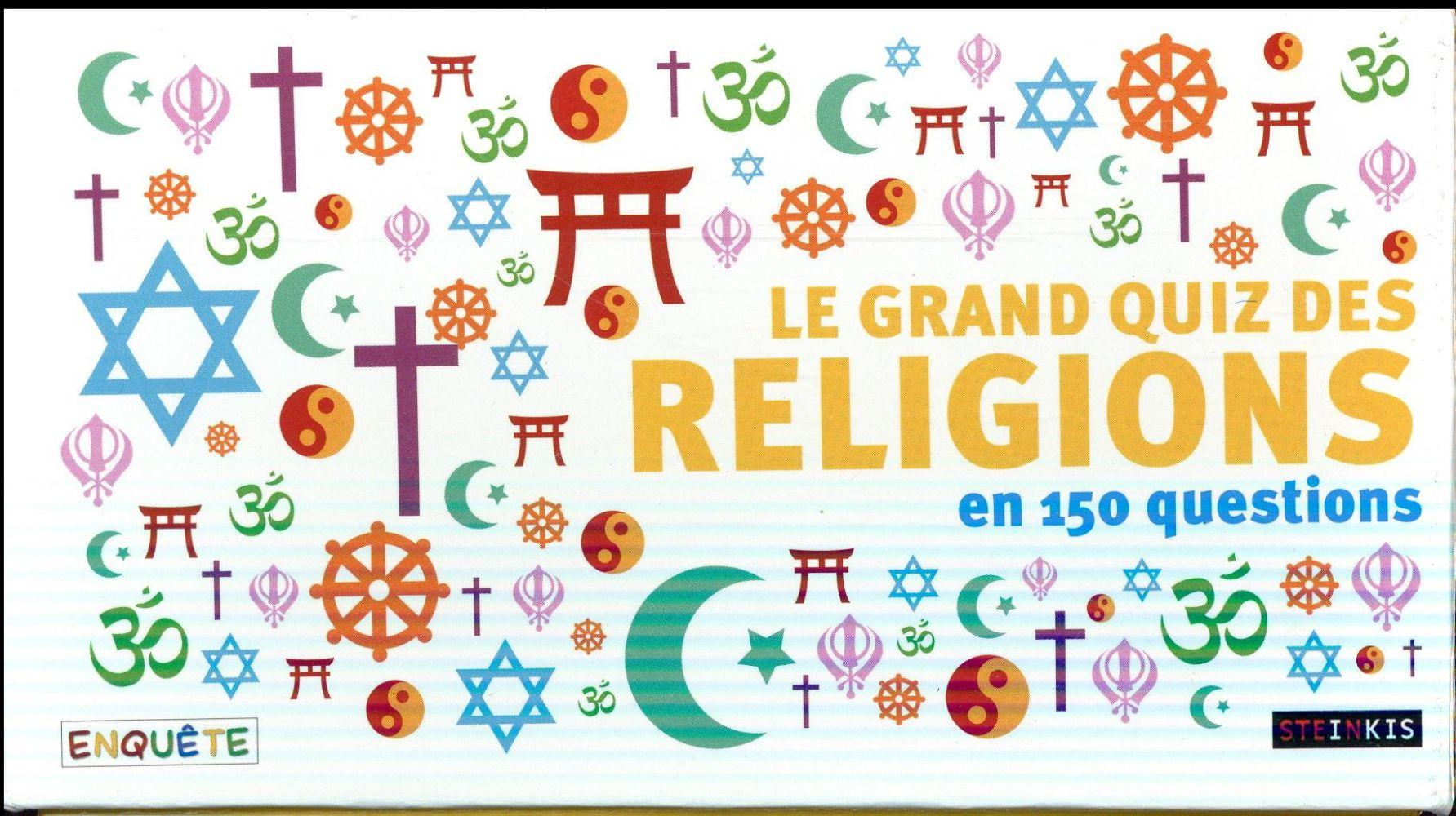 Vente  Le grand quiz des religions  - Collectif