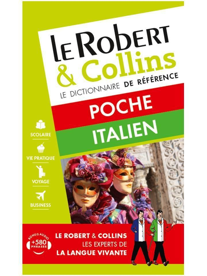 LE ROBERT & COLLINS ; POCHE ; italien (édition 2016)  - Collectif